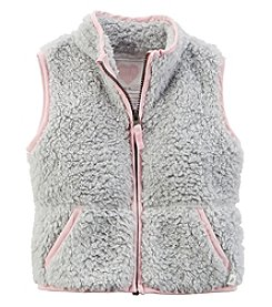 Carter's® Baby Girls' Sherpa Vest