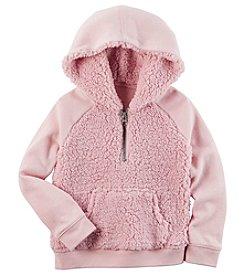 Carter's® Baby Girls' Sherpa Hoodie