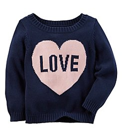 Carter's® Baby Girls' Love Sweater