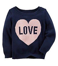 Carter's® Baby Girls' Love Sweater