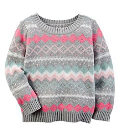 Carter's® Baby Girls' Fair Isle Sweater