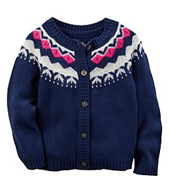 Carter's® Baby Girls' Fair Isle Cardigan