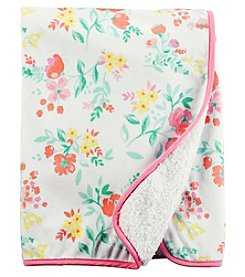 Carter's® Baby Girls' Floral Plush Blanket