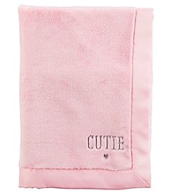 Carter's® Baby Girls' Cutie Plush Blanket