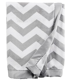 Carter's® Baby Chevron Plush Blanket