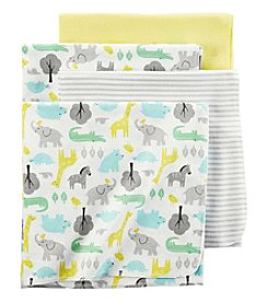 Carter's® Baby 4-Pack Safari Receiving Blankets