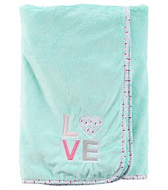 Carter's® Baby Girls' Love Plush Blanket