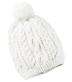 Carter's® Baby Girls' Sweater Knit Hat With Pom