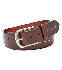 Fossil® Men's Cullen Stitch Detail Belt