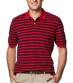 Chaps® Men's Big & Tall Short Sleeve Stripe Polo