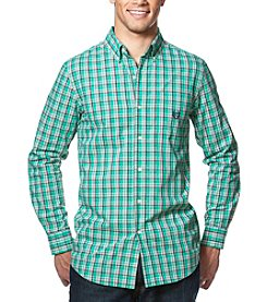 Chaps® Men's Big & Tall Easy Care Woven Long Sleeve Button Down Shirt