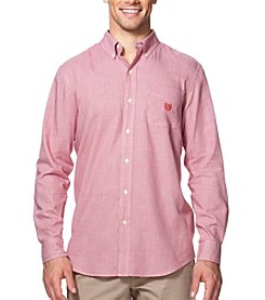 Chaps® Men's Big & Tall Easy-Care Woven Long Sleeve Button Down Shirt