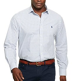 Polo Ralph Lauren® Men's Big & Tall Long Sleeve Button Down Shirt