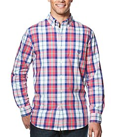 Chaps® Men's Big & Tall Easy-Care Long Sleeve Button Down Shirt
