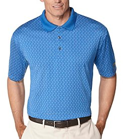 Jack Nicklaus Men's Two-Color Jacquard Polo