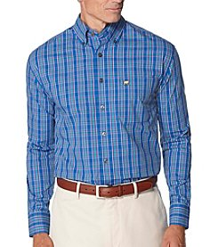 Jack Nicklaus Men's Multi Color Tartan Long Sleeve Button Down Shirt