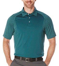 PGA TOUR® Men's Heather Block Polo