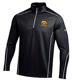 Under Armour® NCAA® Iowa Hawkeyes Men's Validate 1/4 Zip Pullover