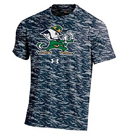 Under Armour® NCAA® Notre Dame Fighting Irish Men's Fiber Tech Short Sleeve Tee