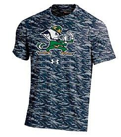 Under Armour® NCAA® Notre Dame Fighting Irish Men's Fiber Tech Short Sleeve Tee