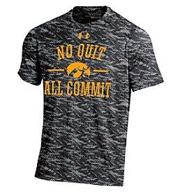 Under Armour® NCAA® Iowa Hawkeyes Men's Fiber Tech Short Sleeve Tee