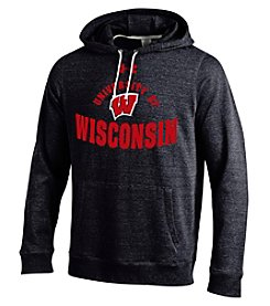 Under Armour® NCAA® Wisconsin Logo Men's Tri-Blend Hoodie