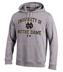 Under Armour® NCAA® Notre Dame Fighting Irish Men's Tri-Blend Hoodie