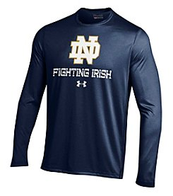 Under Armour® NCAA® Notre Dame Fighting Irish Men's Tech Long Sleeve Tee