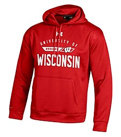 Under Armour® NCAA® Wisconsin Badgers Men's Motion Logo Hoodie