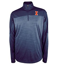 Champion® NCAA® Men's University Of Illinois Zone Blitz 1/4 Zip Shirt