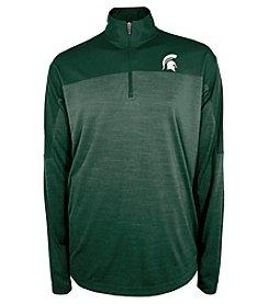 Champion NCAA® Michigan State Spartans Zone Blitz Men's Quarter Zip Pullover