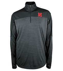 Champion® NCAA® Men's University Of Nebraska Zone Blitz 1/4 Zip Shirt