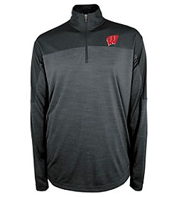 Champion® NCAA® Wisconsin Badgers Men's Zone Blitz Quarter Zip