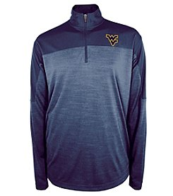 Champion® NCAA® Men's University of West Virginia Zone Blitz 1/4 Zip Shirt