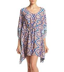 Be Bop® Printed Kimono Dress
