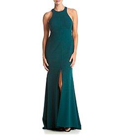 Vera Wang® Matte Jersey Long Gown