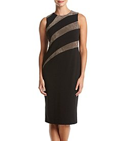 Ivanka Trump® Stripe Sheath Dress