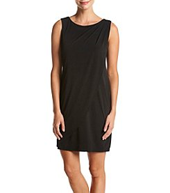 Jessica Simpson Detail Neckline Sheath Dress