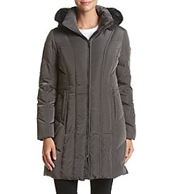 Calvin Klein Petites' Vertical Seamed Down Jacket