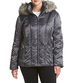 Calvin Klein Plus Size Vertical Seaming Down Jacket