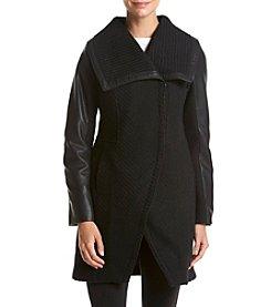 Betsey Johnson® Asymmetrical Walker Coat