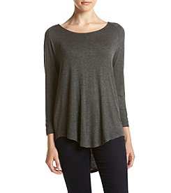 no comment™ Tunic Rounded Hem Tee