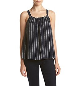 Hippie Laundry Stripe Flowy Bow Back Tank