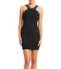 Trixxi® Gromment Neck Slip Party Dress