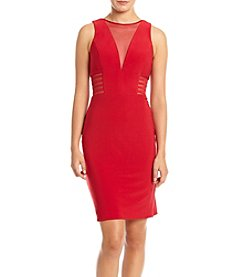 Morgan & Co.® Illusion Side Cut Bodycon Party Dress