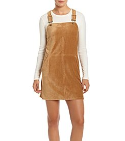 Be Bop Corduroy Jumper Dress