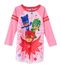PJ Masks Girls' 4-6 Masks Time Nightgown