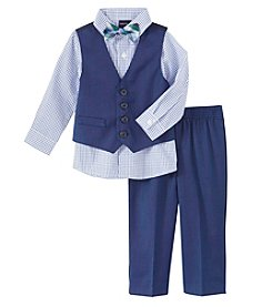 Nautica® Baby Boys' 3-Piece Vest Set