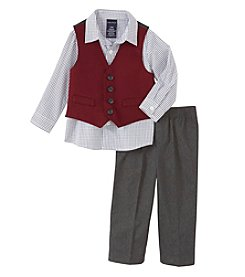 Nautica® Baby Boys 3-piece Vest Set
