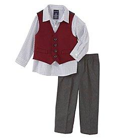 Nautica® Baby Boys 3-piece Vest Set
